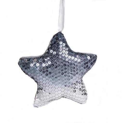 Dísz Flitter csillag