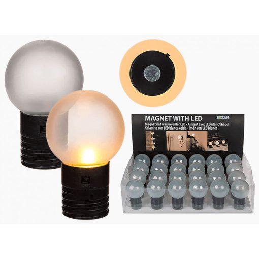 Mágneses meleg fehér LED fény