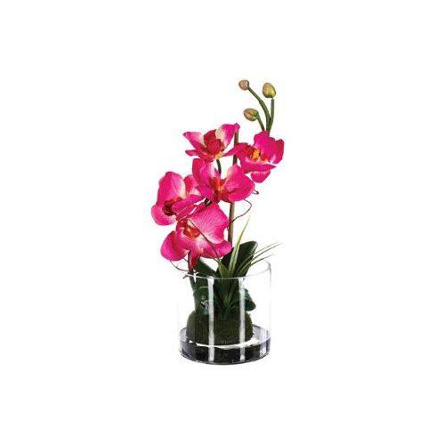Virág dekoráció kompozíció pink 33cm