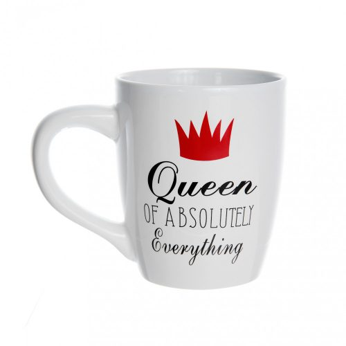 Óriás bögre Queen of everything