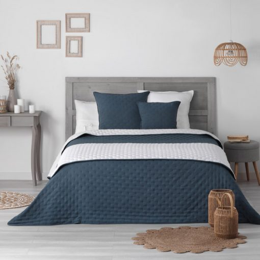 Ágytakaró 240*260cm Mellow Chic kék