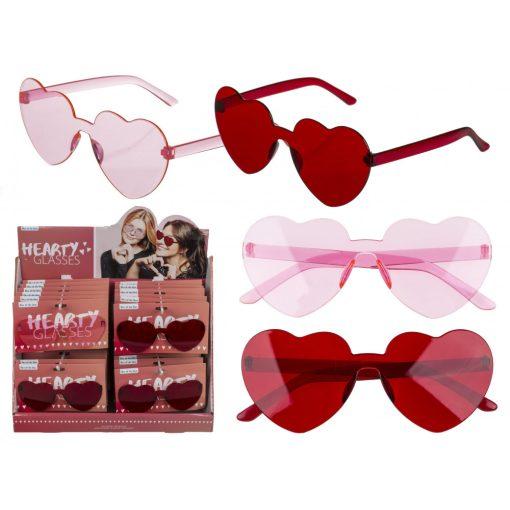 Vicces szemüveg Hearts