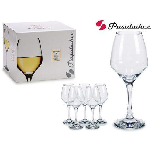 6db-os boros pohár szett Isabella 350ml