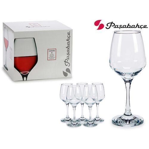 6db-os boros pohár szett Isabella 400ml