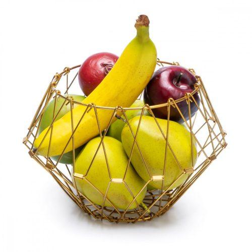 Gyümölcskosár Multi form arany