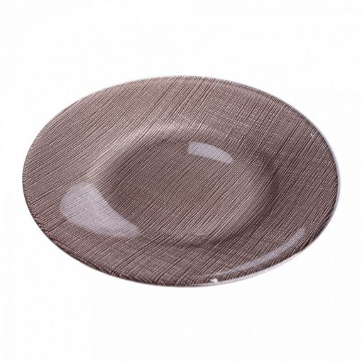 Sis desszert tányér taupe