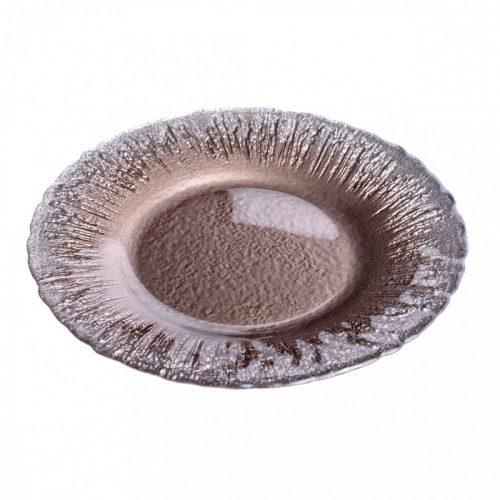 Flash desszert tányér taupe