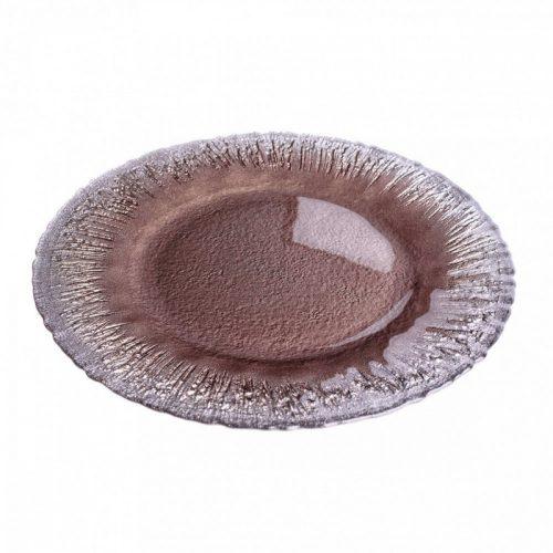 Flash kínáló tányér taupe