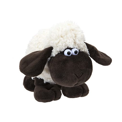 22cm-es mókás fekete bárány