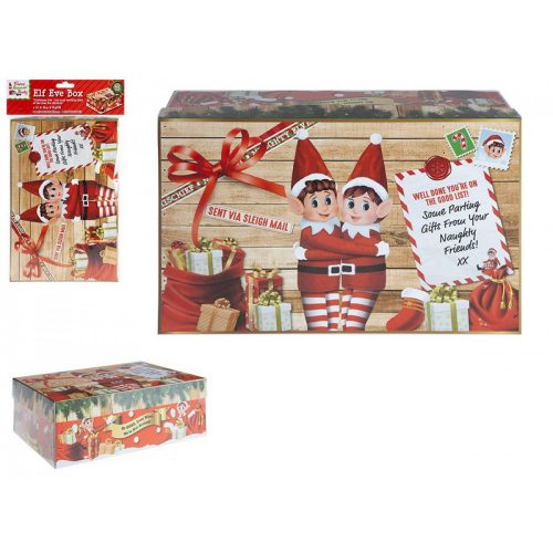 Elf karácsonyi doboz 17*26,5*8,5cm