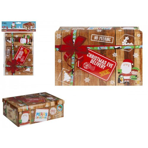 Xmas delivery karácsonyi doboz 17*26,5*8,5cm