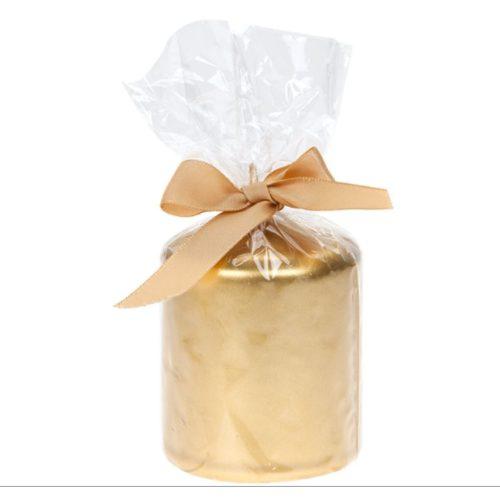 Gyertya Metallic 160g arany