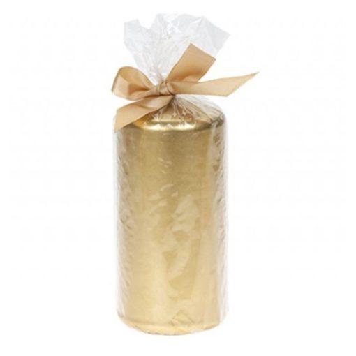 Gyertya Metallic 265g arany