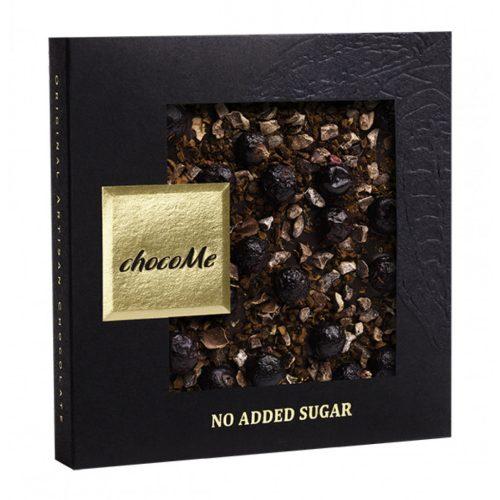 Cukormentes: étcsokoládé kávészemek-kakaóbab-f.ribizli