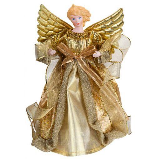 21cm-es angyal dísz arany
