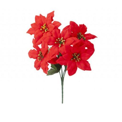 Mikulásvirág csokor 34cm