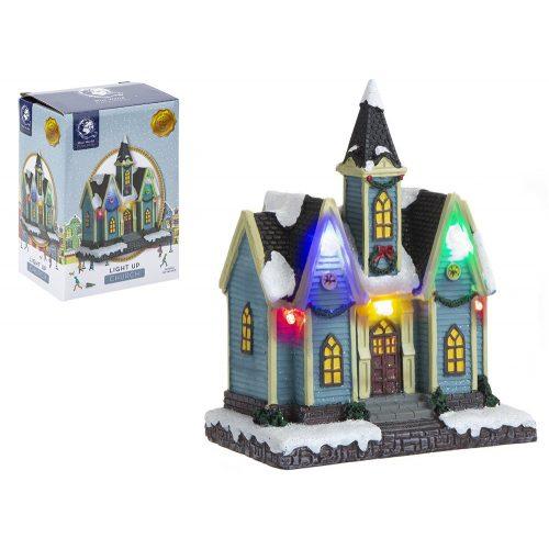 Magical világító templom