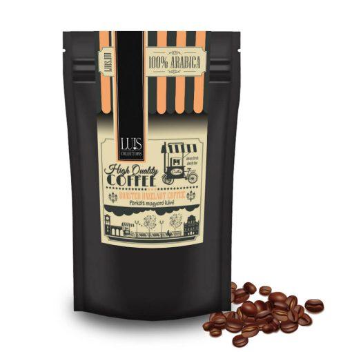 Pörkölt mogyoró szemes kávé