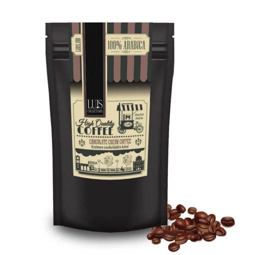 Krémes csokoládé kávé