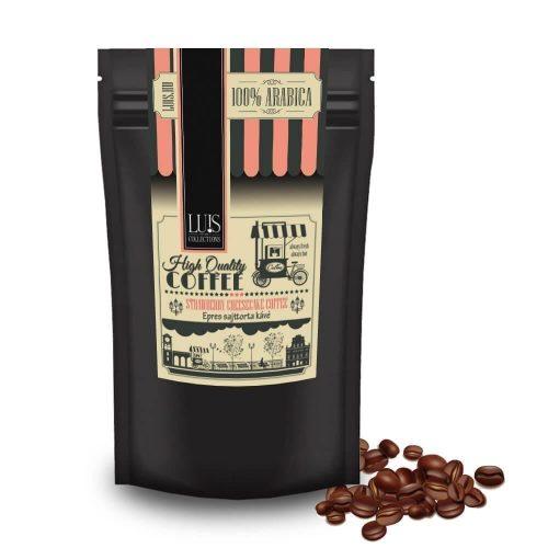 Epres sajttorta kávé