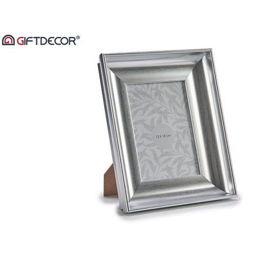 Képkeret Silver curved 13*18cm