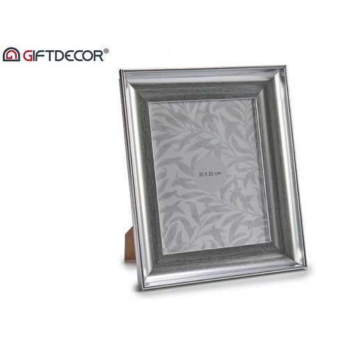 Képkeret Silver curved 20*25cm