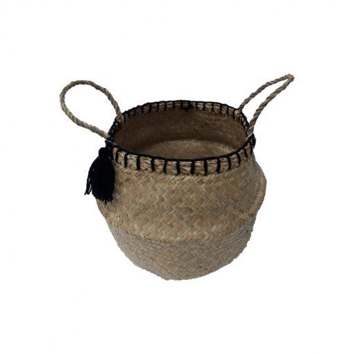 Természetes kaspó Pompom 30cm