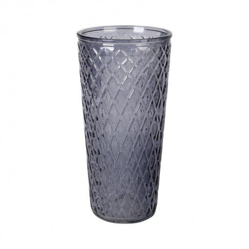 Váza Losange szürke 30cm