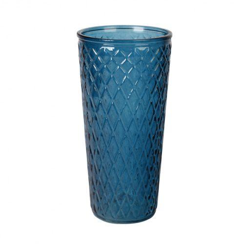 Váza Losange kék 30cm