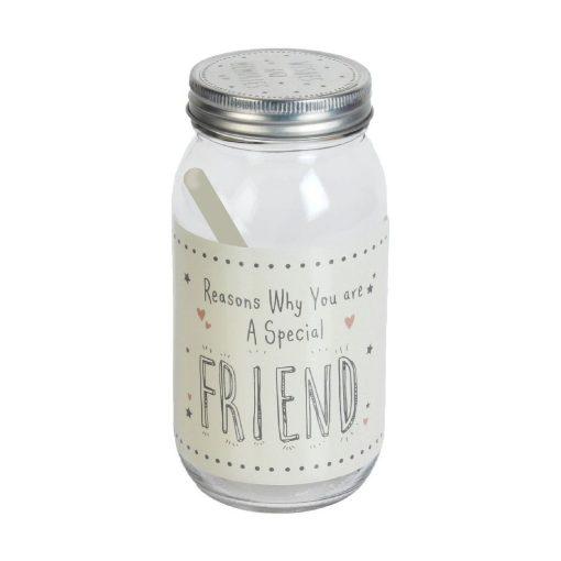 Inspiráció üveg Barátoknak