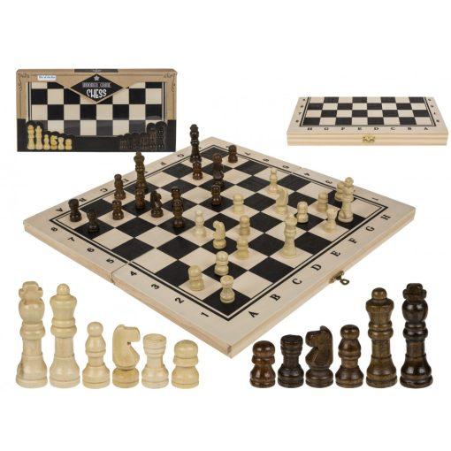 Fa sakk ajándékdobozban 34*34cm