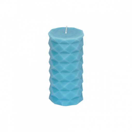 Gyertya Tropical kék 7*13,8cm