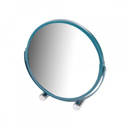 Duplaoldalú tükör türkiz