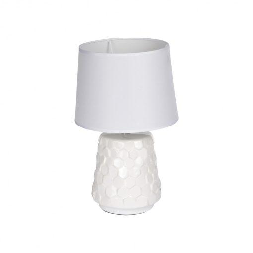 Asztali lámpa Martelé fehér