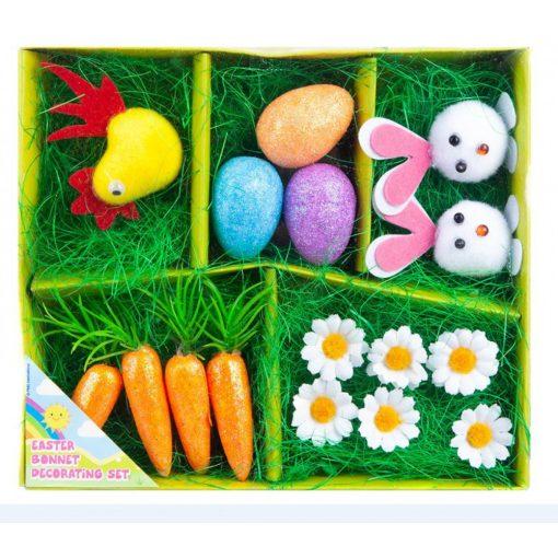 16db-os húsvéti dekorációs szett