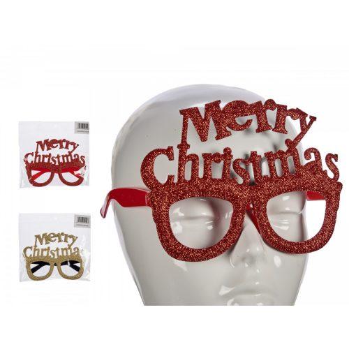 Karácsonyi szemüveg Merry Christmas