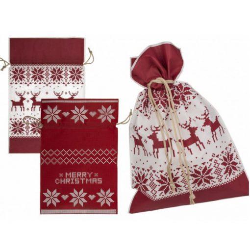 Karácsonyi ajándékzacskó L