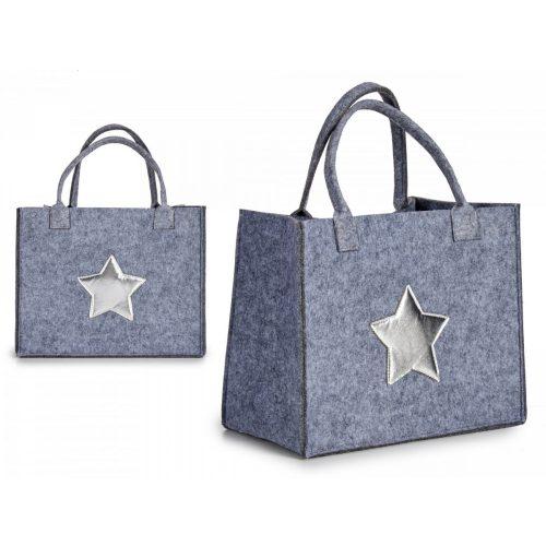 Dekorációs táska Silver