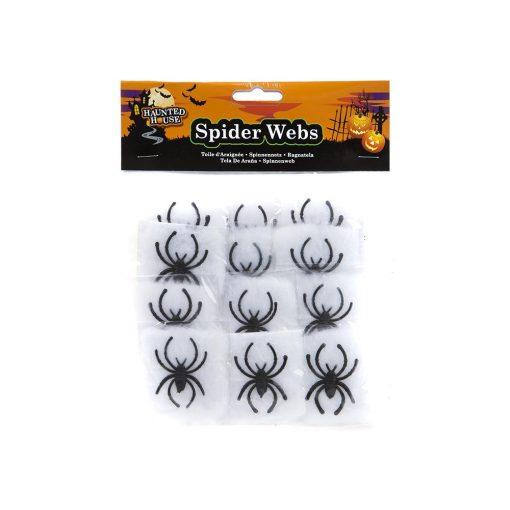 Halloween pók és pókháló szett