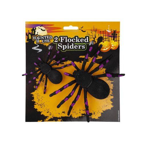 Halloween 2db-os pók szett