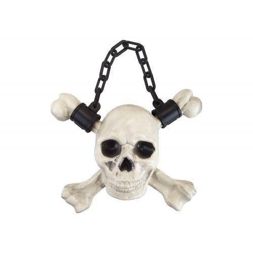 Halloween felakasztható koponya