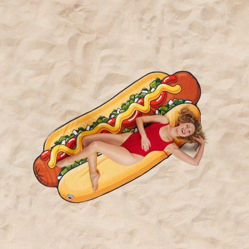 Óriás strandtörölköző Hot Dog