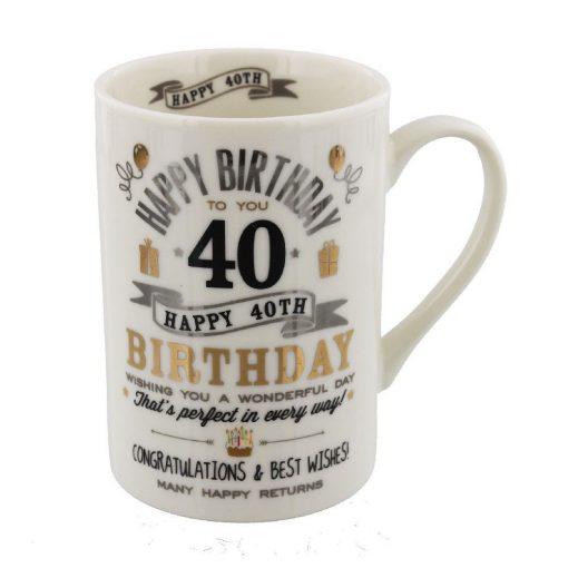 Bögre 40.születésnapra
