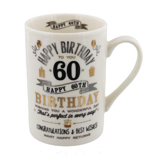 Bögre 60.születésnapra