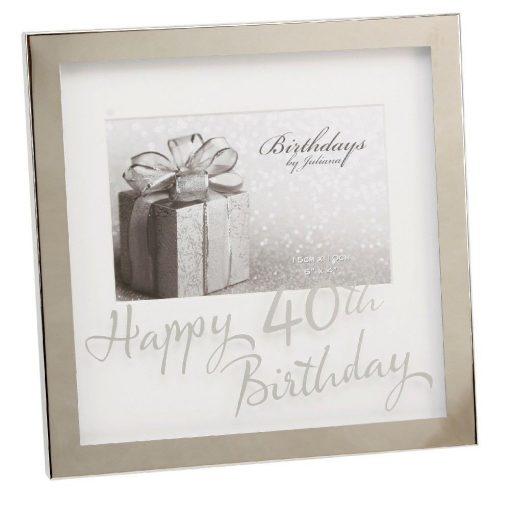 Képkeret 40.születésnapra