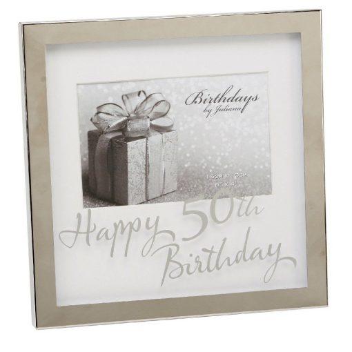 Képkeret 50.születésnapra