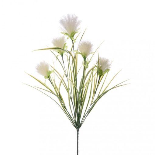 Pehelyfű szálas fehér 52cm
