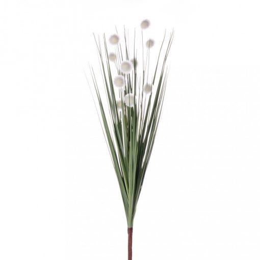 Pompom fű csokor fehér