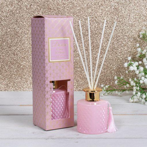 Diffúzor Bazsarózsa 100ml rózsaszín