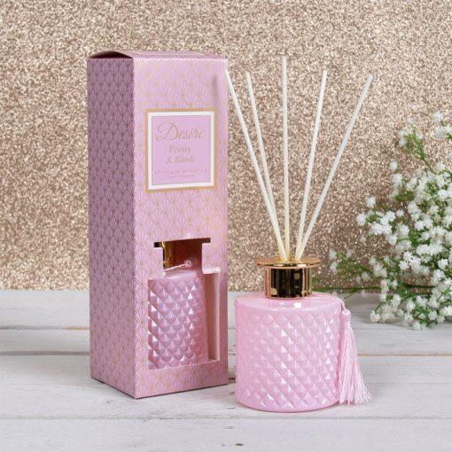 Diffúzor Bazsarózsa 200ml rózsaszín